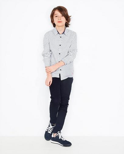 Roomwit hemd